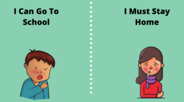 Go to School vs. Staying Home